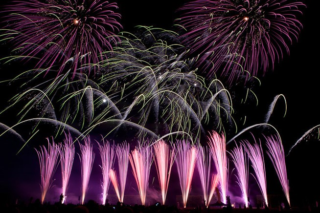 Feuerwerk Hannover 2011: Schweden
