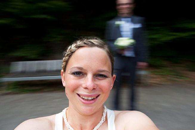 ausgefallene Hochzeitsfotografie
