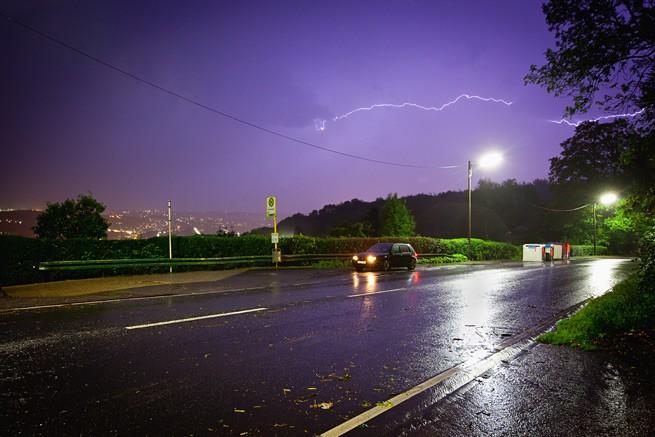 Gewitterfoto Wuppertal