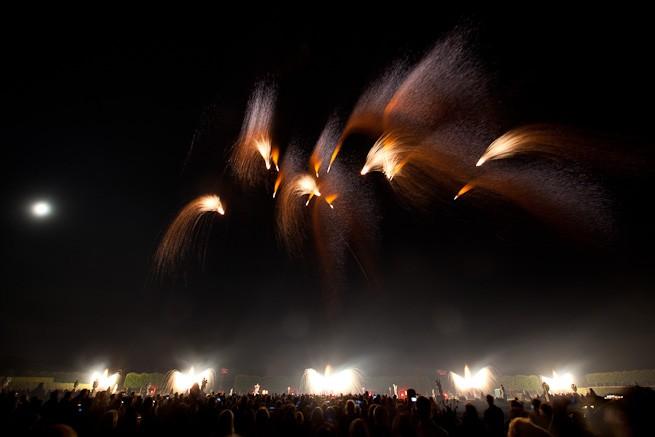 Feuerwerk Hannover Österreich Pyrovision 2011