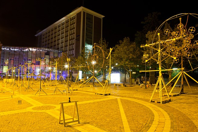 Dortmunder Museumsnacht Feuerwerk