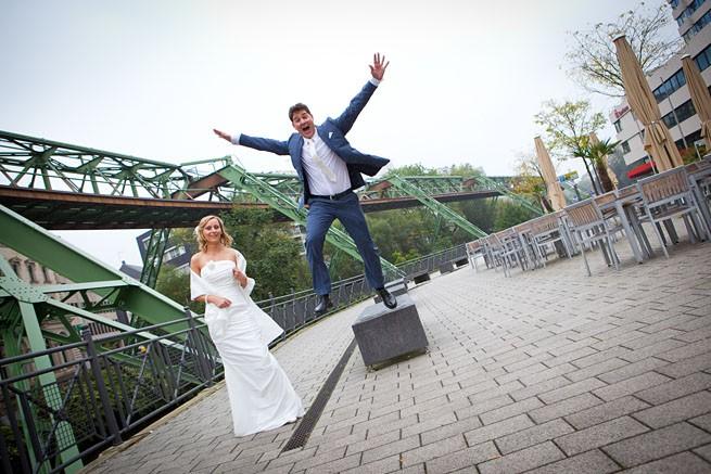 ausgefallene Hochzeitsfotos in Wuppertal