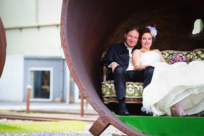 Hochzeitsfoto in Hattingen Henrichshütten