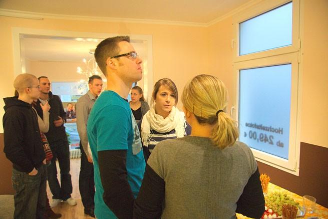Gäste im Fotostudio