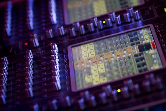 Technik auf dem Konzert in der König Pilsener Arena