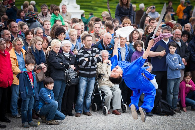 Actionreiche Kung Fu Show