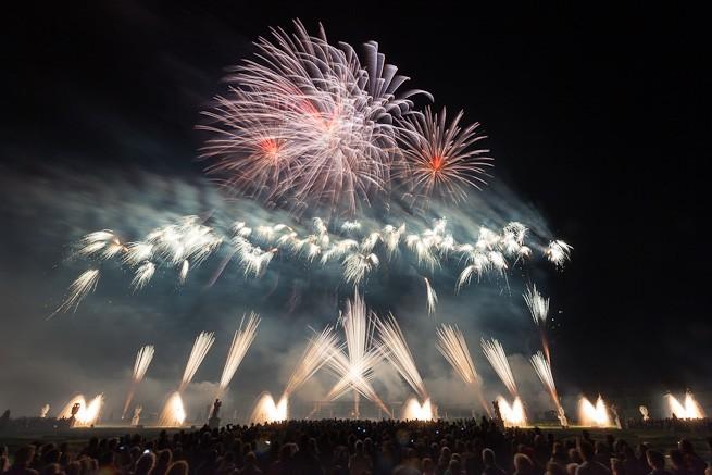 Panda Feuerwerk in Hannover 2012