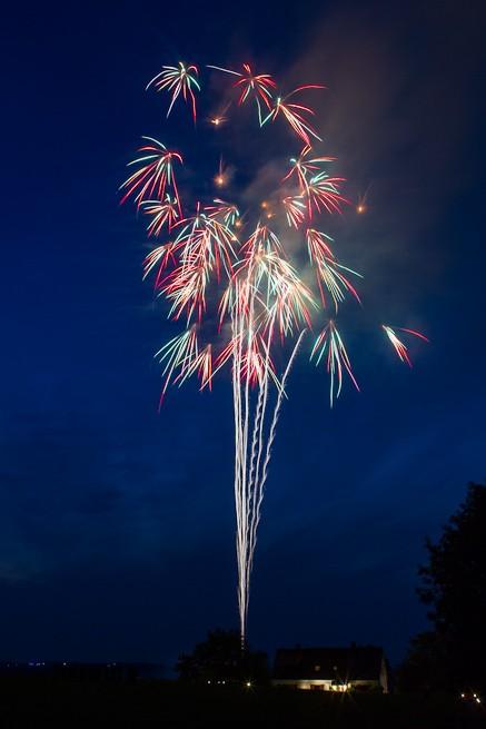 Feuerwerk in Gevelsberg 2012