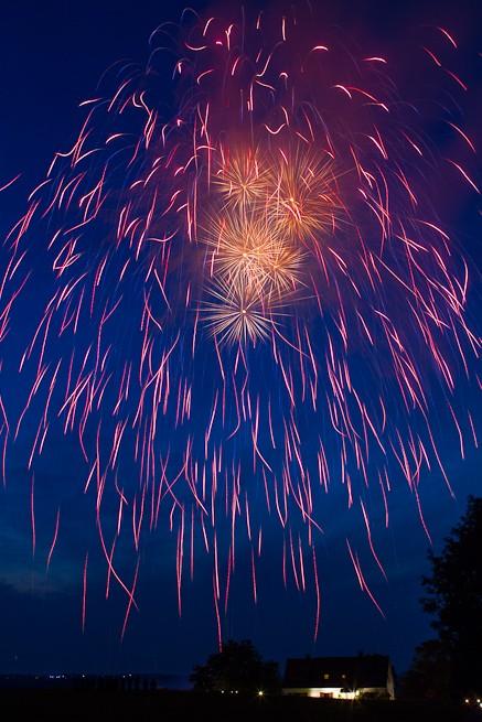 Faszinierende Feuerwerkseffekte in Gevelsberg