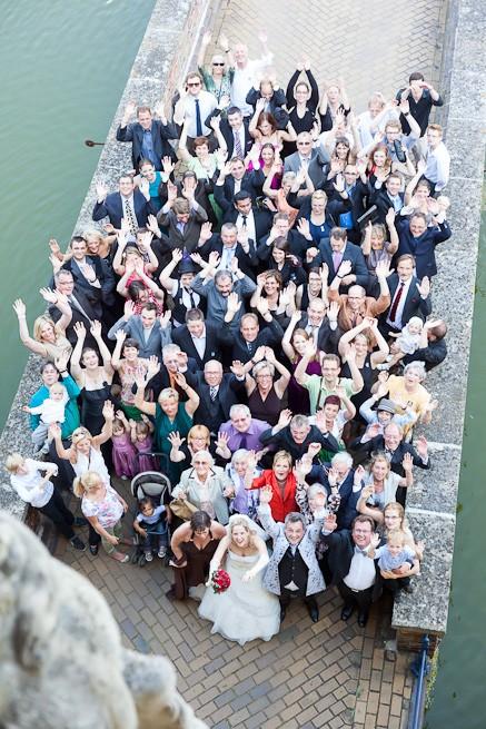 Hochzeit Gruppenfoto Schloss Lembeck