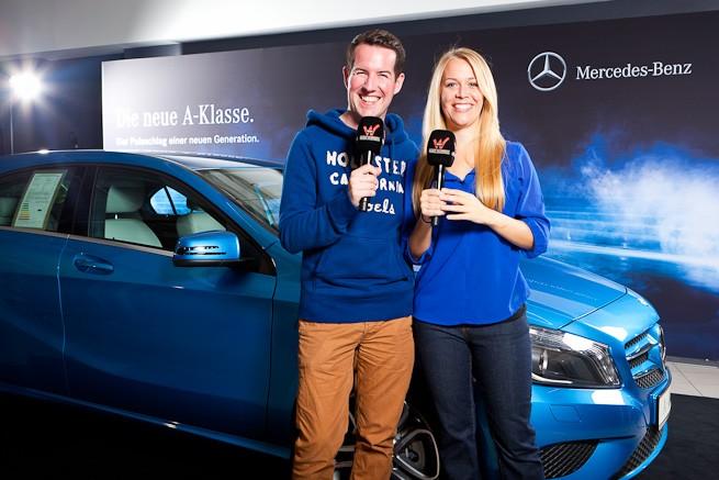 Michael und Sandra von Radio Wuppertal