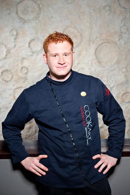 Portrait eines Kochs