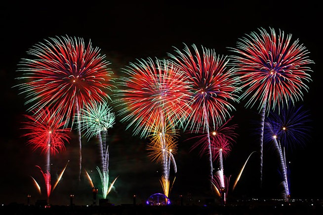 Feuerwerk in Berlin