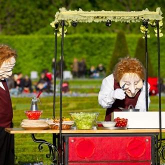 stumme Künstler in den Herrenhäuser Gärten