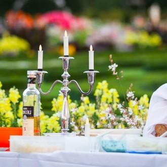 Picknick beim 22. Internationalen Feuerwerkswettbewerb