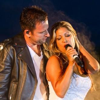 Michael Wendler mit Sängerin im Autokino Essen