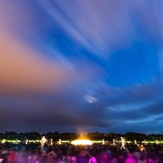 Himmel über den Herrenhäuser Gärten 2012
