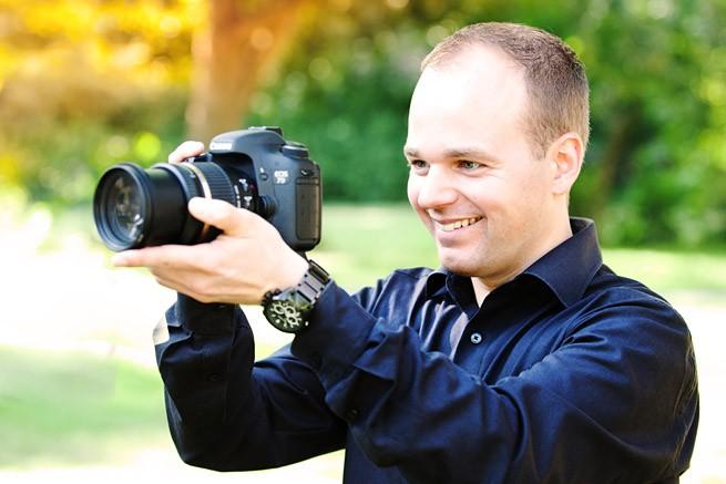 Carsten Rusch beim filmen