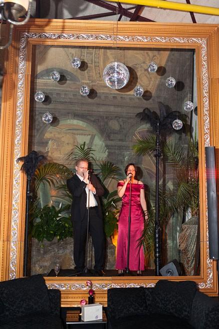 Karaoke bei Hochzeit