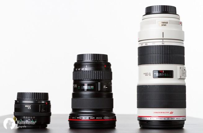 Welche Kamera kaufen Canon Objektive von 16 bis 200mm