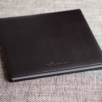 Designfotobuch Ledereinband