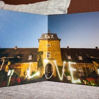 Foto über eine Doppelseite im Designfotobuch