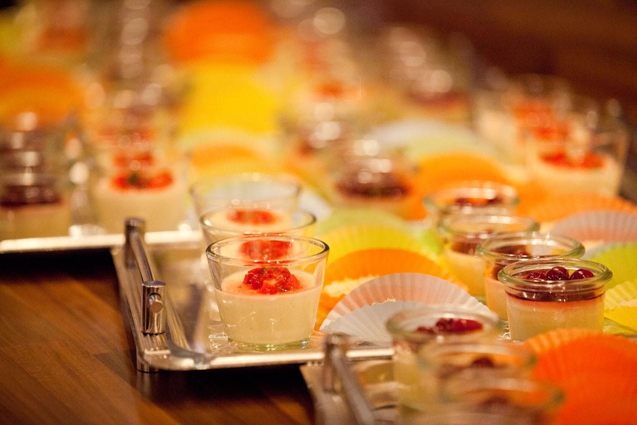 Hochzeitslocations: Bootshaus Wuppertal - Snacks