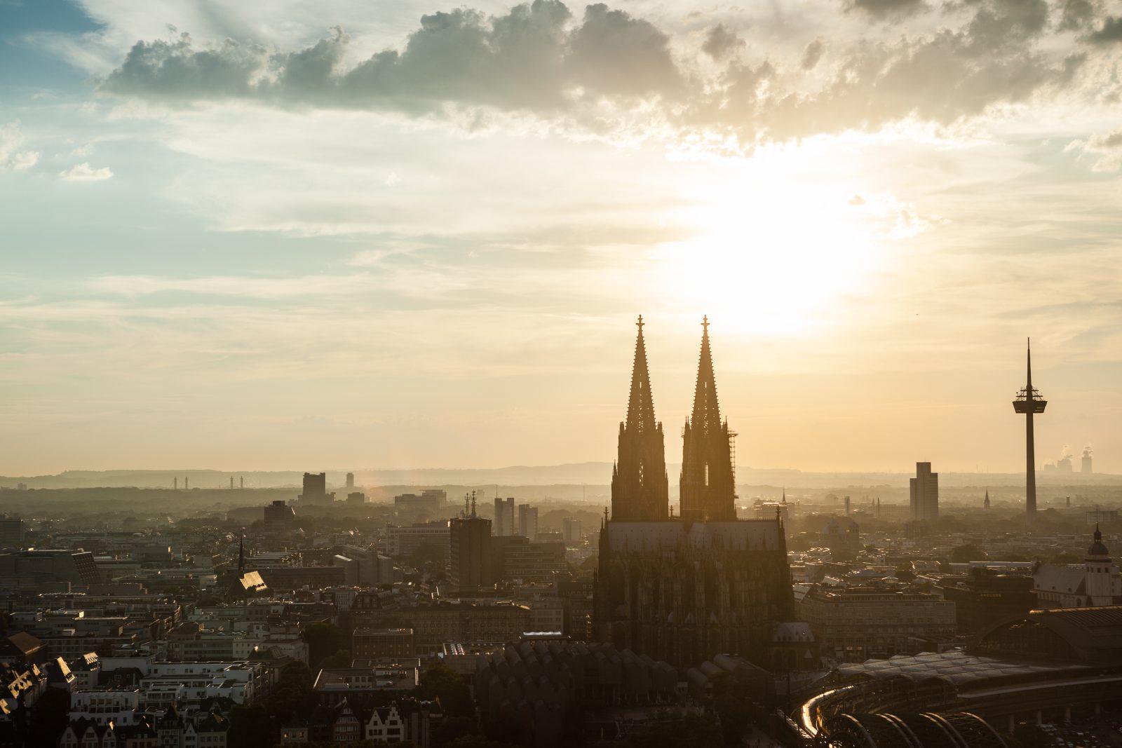 Kölner Dom Köln Sky Hochzeit