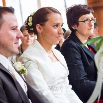 Trauung des Brautpaares