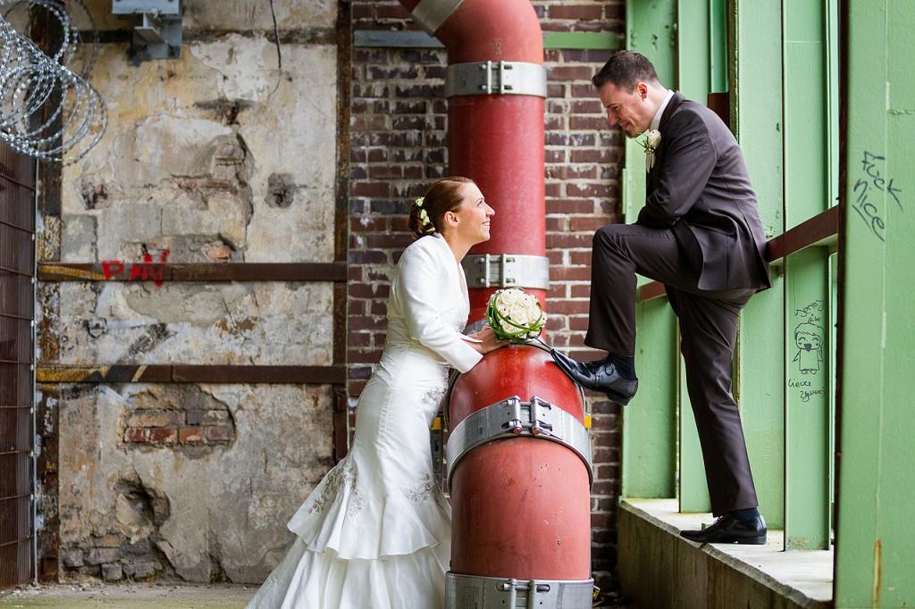 Hochzeitsreportage in Dortmund Fotoshooting