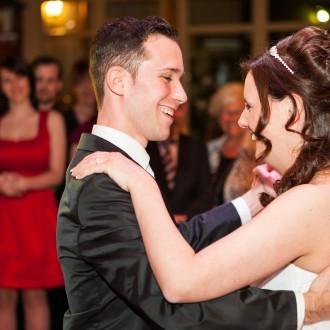 Brautpaartanz in der VillaMedia