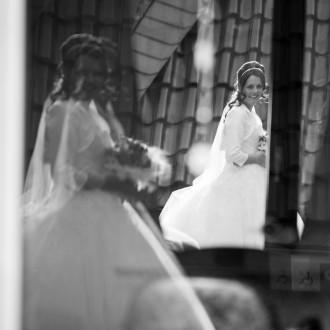 außergewöhnliches Brautfoto