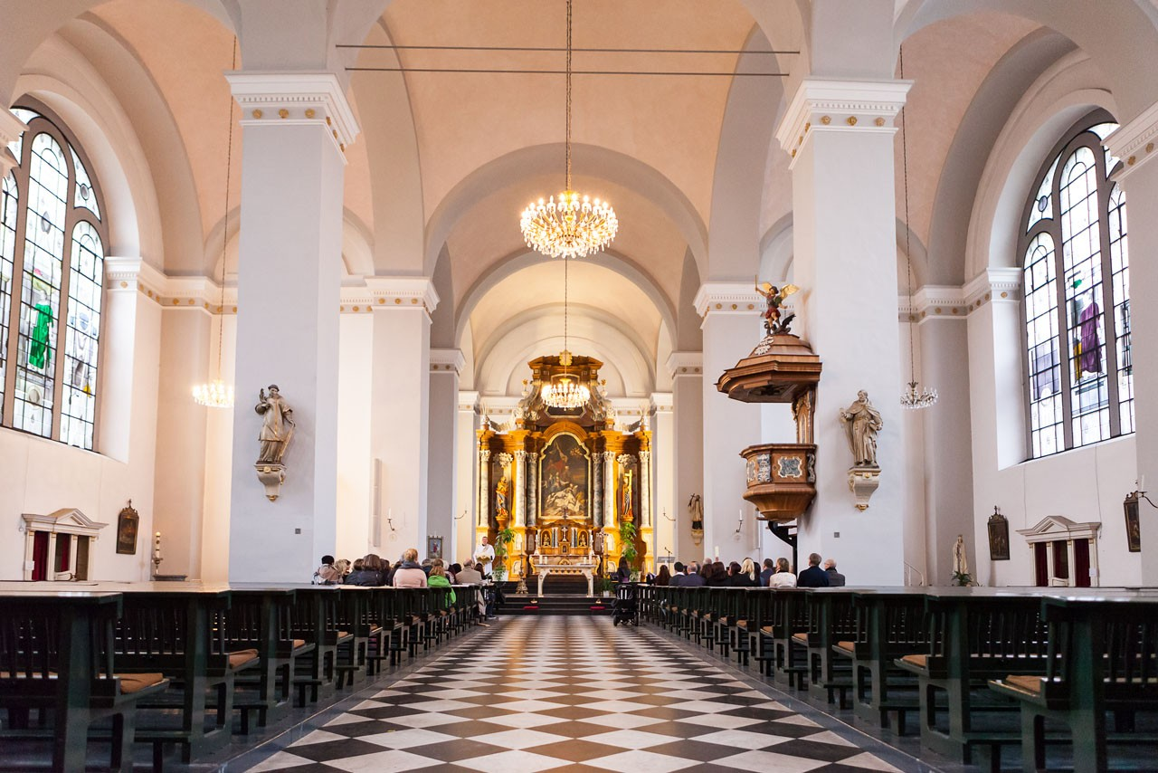Basilika St. Laurentius Wuppertal innen