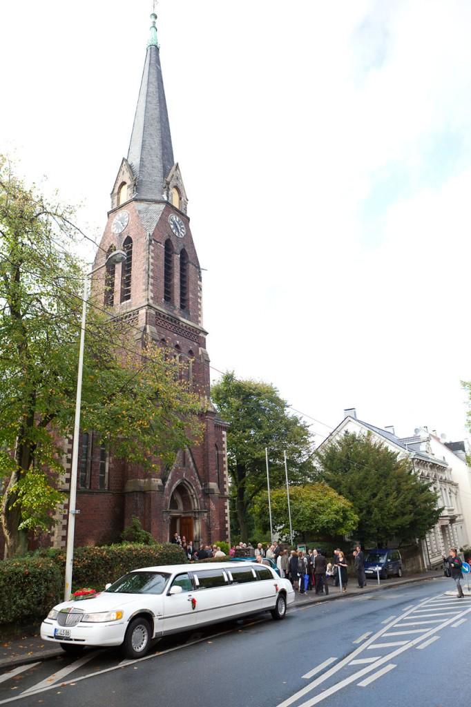 Evangelische Kirche Wuppertal Vohwinkel von außen