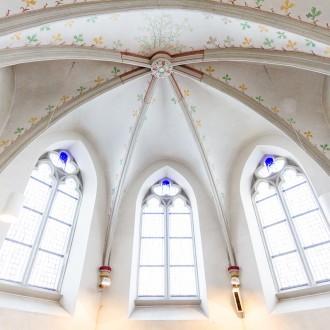 evangelische Kirche Tönisheide innen