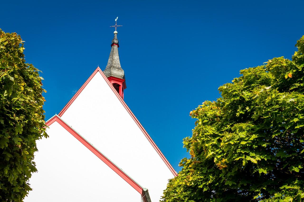 evangelische Kirche Tönisheide außen