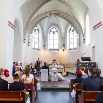 Hochzeit evangelische Kirche Tönisheide