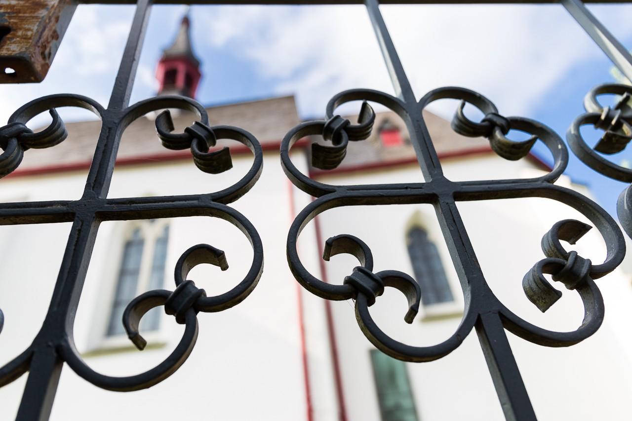 Detailfoto evangelische Kirche Tönisheide