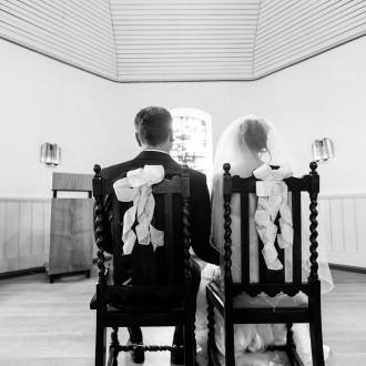 Trauung in der windrather Kapelle Velbert