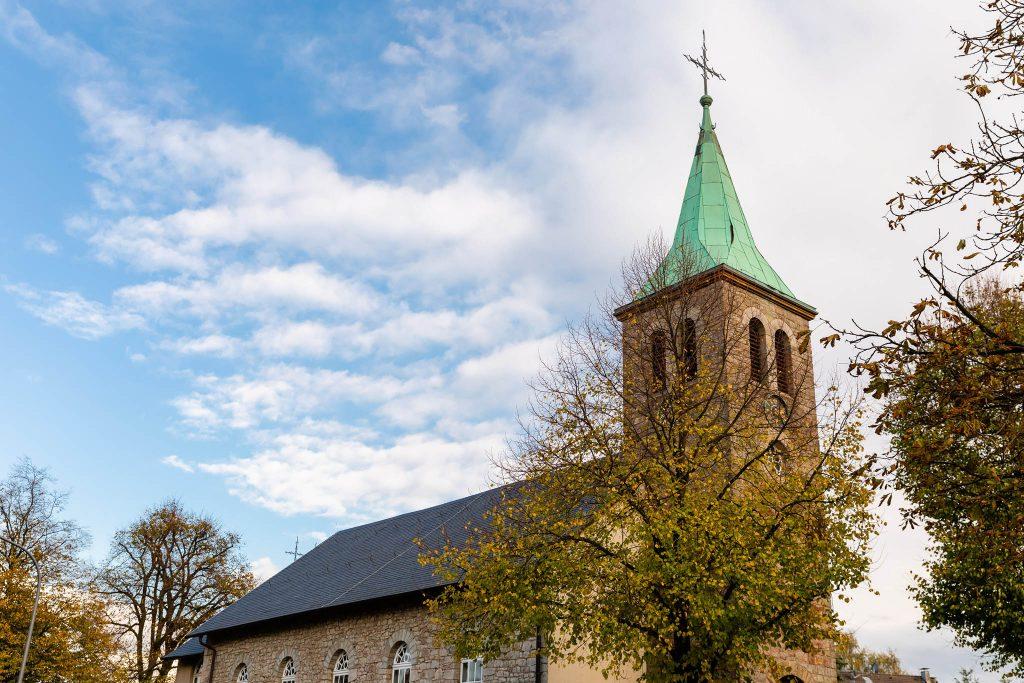 evangelische Kirche am Dönberg in Wuppertal
