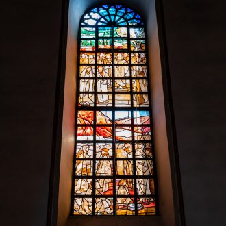 kirchenfenster St Cäcilia