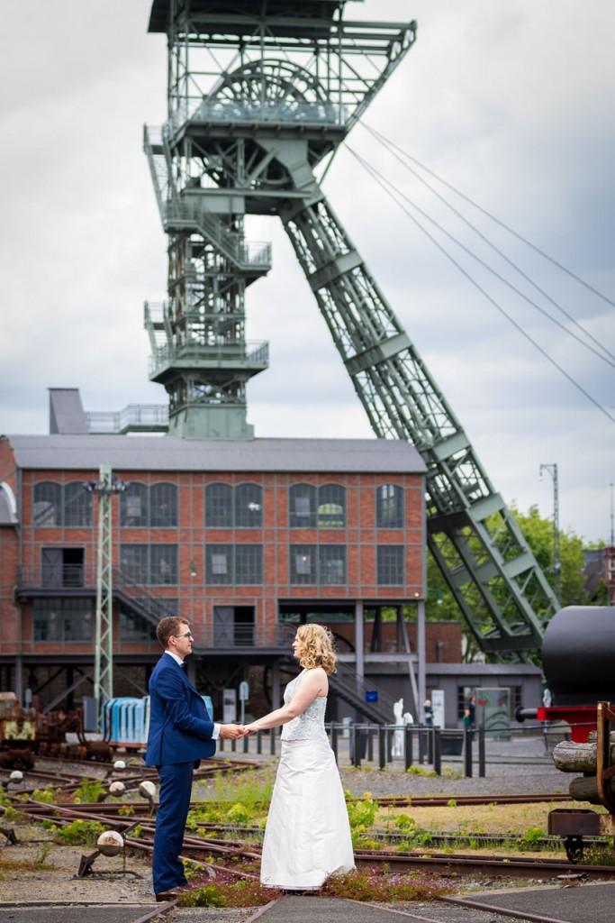Hochzeitsfoto Zeche Zollern Dortmund