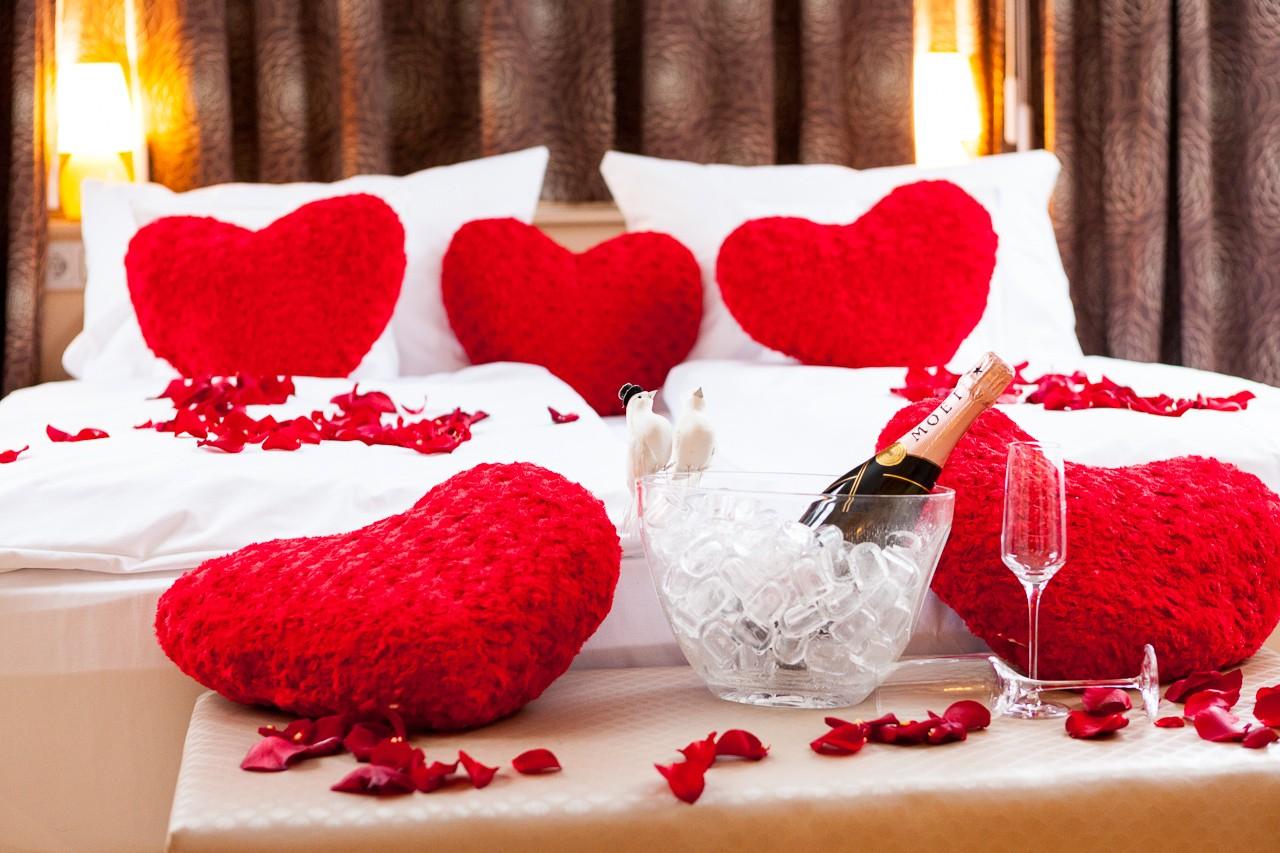 Schlafzimmer schlafzimmer deko hochzeitsnacht - Hochzeit schlafzimmer dekorieren ...