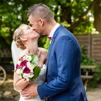 Brautpaarkuss