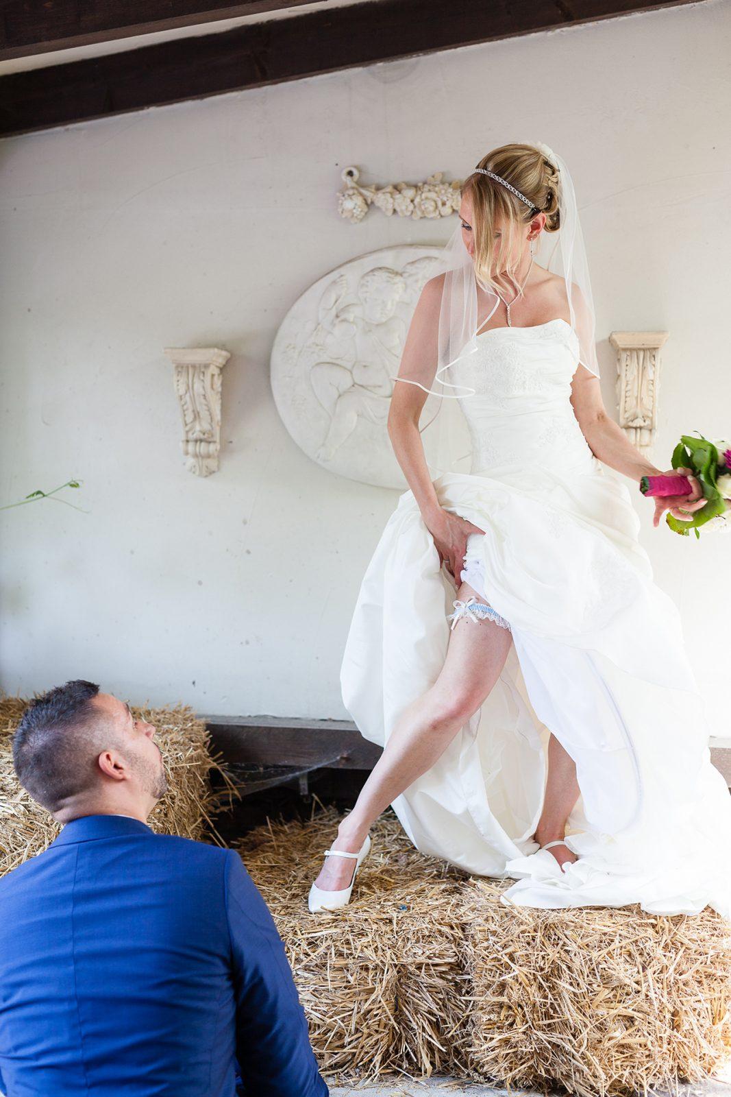 Strumpfband der Braut