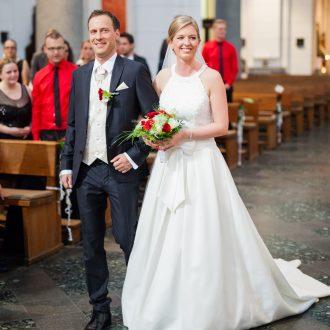 St. Heribert Kirche Hochzeit Trauung