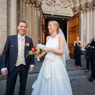 Hochzeit St.Heribert Kirche Trauung
