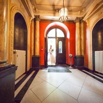 Eingang Braut Henkelsschlösschen Wuppertal