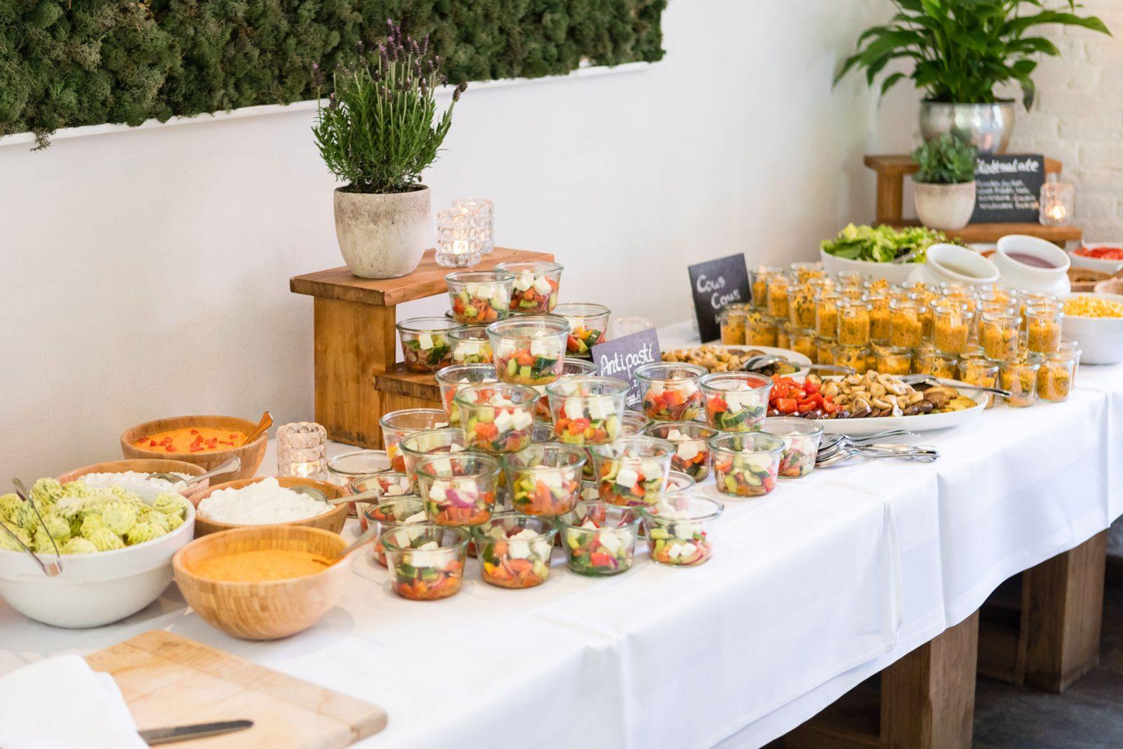 hochzeitsessen buffet