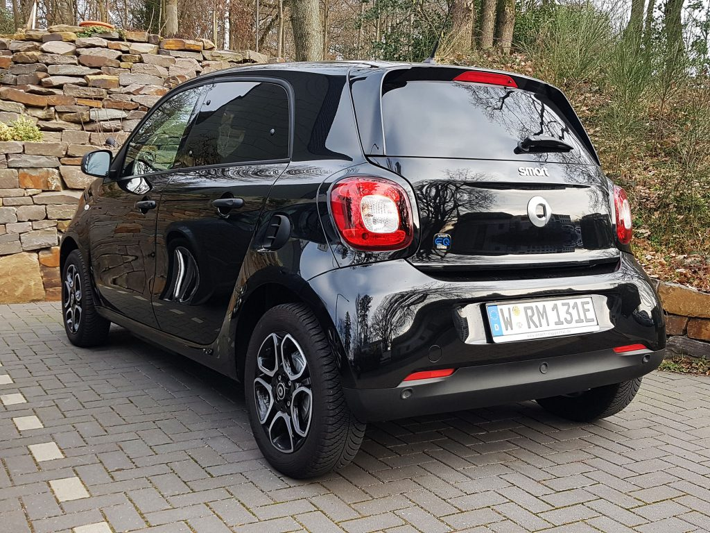 E-Smart als perfektes Stadtauto